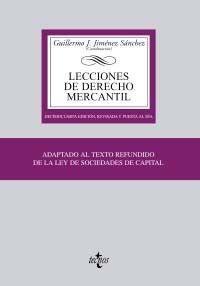 Lecciones de derecho mercantil / Guillermo J. Jiménez Sánchez (coordinación). - 14ª ed. - 2010
