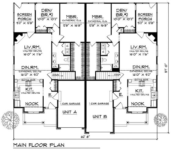 Multigenerational House Plans House Plan Id Chp 24799