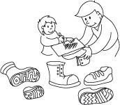 Dessins originaux: un bricolage pour différencier des formes semblables et travailler la motricité fine de votre enfant. Téléchargez et imprimez les instructions.  #enfant #jeux #bricolage