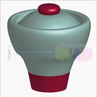 #DecorativeContainerWithLid9 JCHINGDESIGN - DESIGNS: #DecorativeContainerWithLid9
