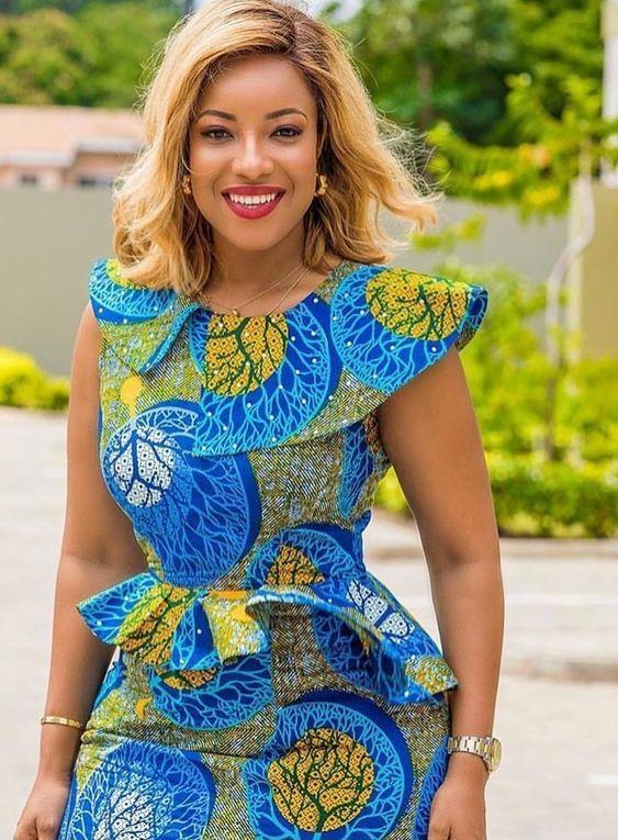 Pin by May Nwosu on Latest Trendy Ankara Styles   African fashion ...