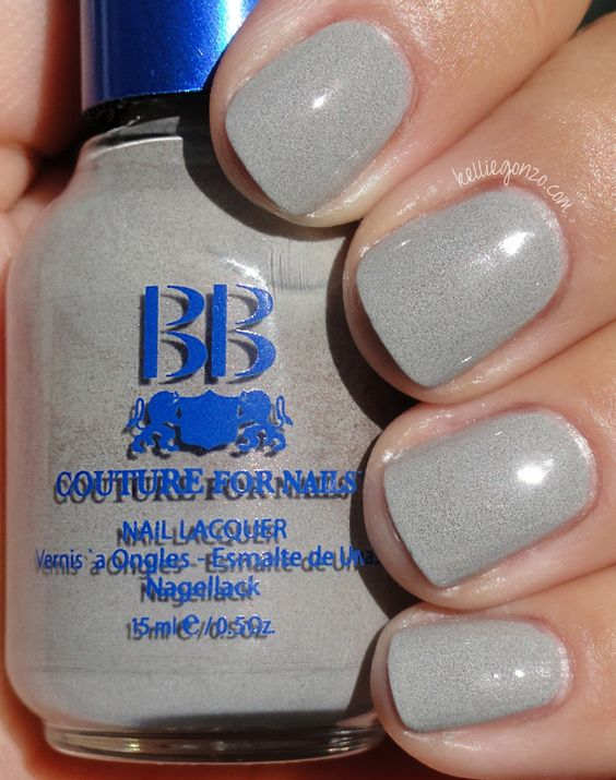 BBCouture. Smoke.: Makeup Nails, Beauty Stuff, Nail Polish, Inspiration Nails, Nails Nelly, Nails Nails Nails, Bb Couture, Bbcouture Smoke