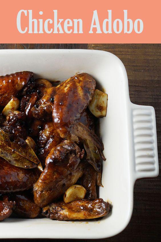 ... chicken adobo soy sauce vinegar black chicken leaves the o jays recipe