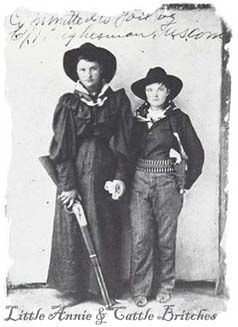 Cattle Annie and LIttle Britches. Bad Ass. #history