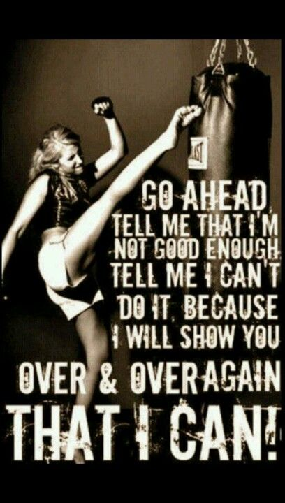 I always get underestimated because of how small I am and because I'm a female. You all best believe that won't stop me. I'll prove those who doubted me wrong!(: