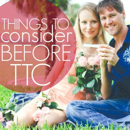 Important Things To Consider Before TTC » Daily Mom