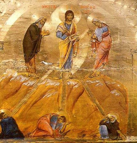 "IC.XC__ "" η Μεταμορφωση "" --ΘΑΥΜΑ ( The Transfiguration - Icon in the Monastery of St. Catherine."