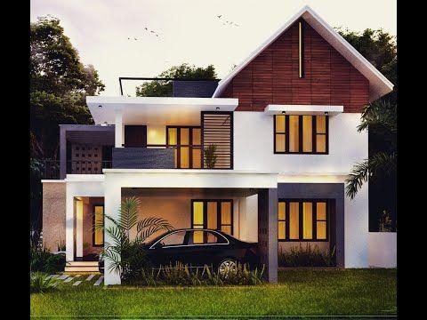 2300 Sq Ft 4 Bed Room Modern Home Design Pictures Videos Kerala House Design Modern House Design House Design