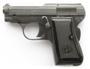 Beretta 418 Pistol - James Bond's first service pistol was later replaced by the Walther PPK
