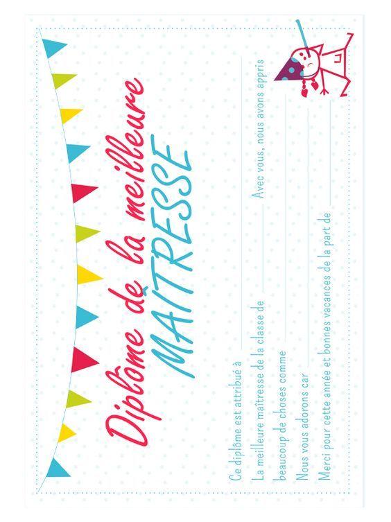 Diplome De La Meilleure Maitresse Idee Cadeau Maitresse Cadeaux