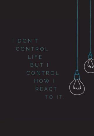 I don't control life but I control how I react to it.- Macklemore wallpaper
