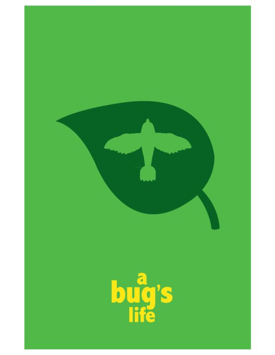 Pixar Minimalist Movie Posters by Adam Thompson