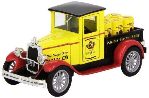 1928 Chevrolet Pennzoil la camioneta pickup por NewRay 1:32 Escala Diecast