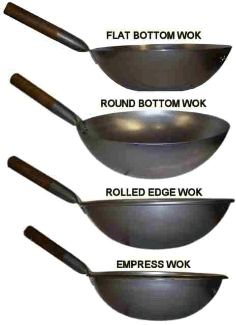 how to clean a wok pan