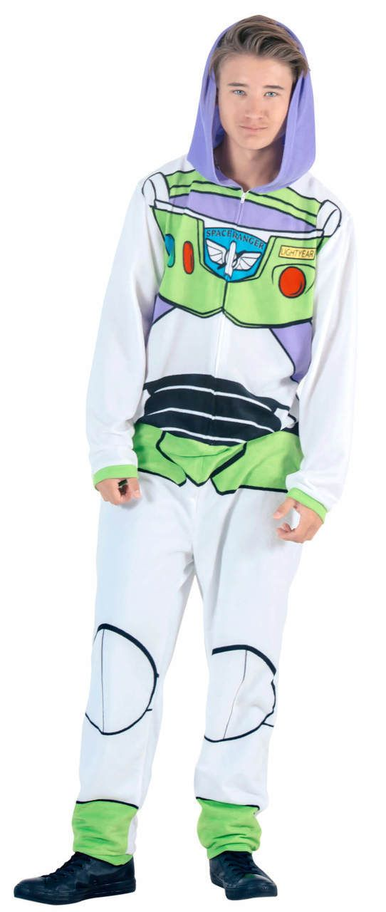 Boys Official Licensed Buzz Lightyear Costume Dress Up Long Sleeve Pyjamas PJs