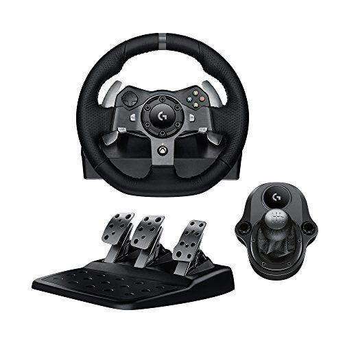 From 201 31 Logitech G920 Driving Force Racing Wheel Pedals Plus Gear Shifter Bundle Xbox One Pc Uk Plug Shifter Racing Wheel Steering Wheel