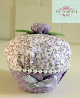 Pequena Boutique Lembrancinhas: Lembrancinha Sachê Cupcake