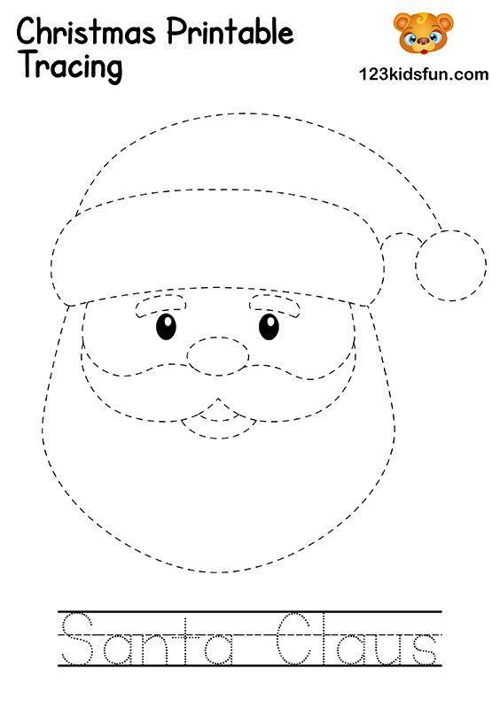Free Christmas Printable 123 Kids Fun Apps Free Christmas Printables Christmas Printables Preschool Christmas