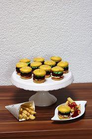 Ninas kleiner Food-Blog: Gastbeitrag von Patricia: Burger-Cupcakes mit Pommes