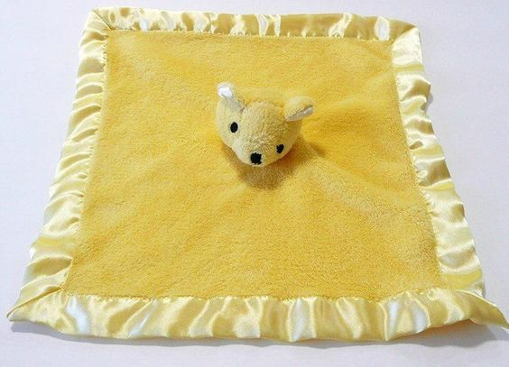 Baby Security Blanket Babies And Satin On Pinterest