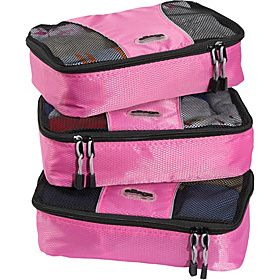 eBags Small Packing Cubes - 3pc Set - Peony - via eBags.com!  LOVE THESE!!! (not only good for travel, but for home as well)