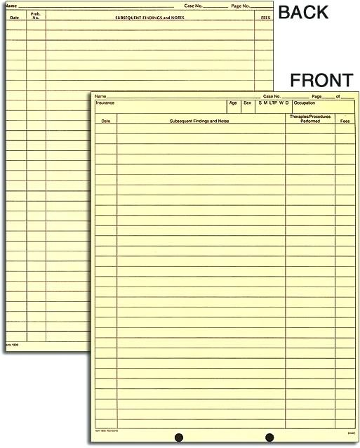 It's just a photo of Printable Dental Charting Forms pertaining to dental exam