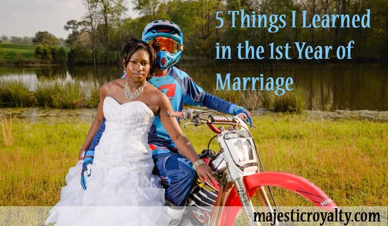What happens after the Fairy Tale Wedding?  5 Things I've learned in the 1st year of Marriage  http://majesticroyalty.com/2014/10/5-things-ive-learned-in-the-first-year-in-marriage/