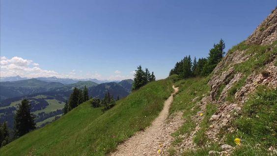 Gratwanderung bei Immenstadt: Steineberg - Stuiben (DJI Osmo + Z-Axis)