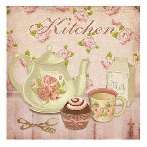 Adornos vintage para cocina buscar con google cuadros - Laminas para cuadros de cocina ...