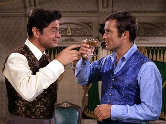 The Wild, Wild West (TV show) Ross Martin (left) and Robert Conrad