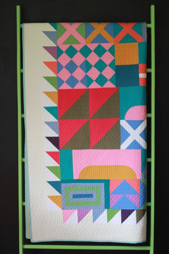 Siobhan Rogers Solid As A Block My Quilt And Pattern In