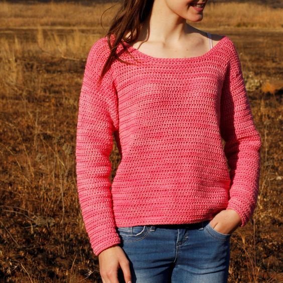 Free Crochet Patterns Ladies Jumpers : 1000+ ideas about Crochet Sweater Patterns on Pinterest ...