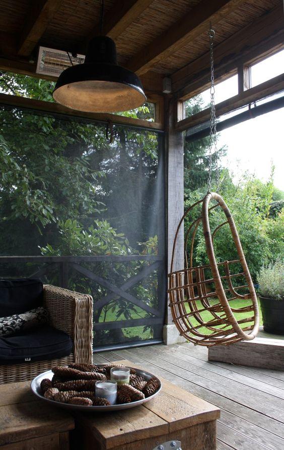 Heerlijk beschut buiten zitten zou het niet heerlijk zijn om vaker buiten te kunnen zitten om - Buiten terras model ...
