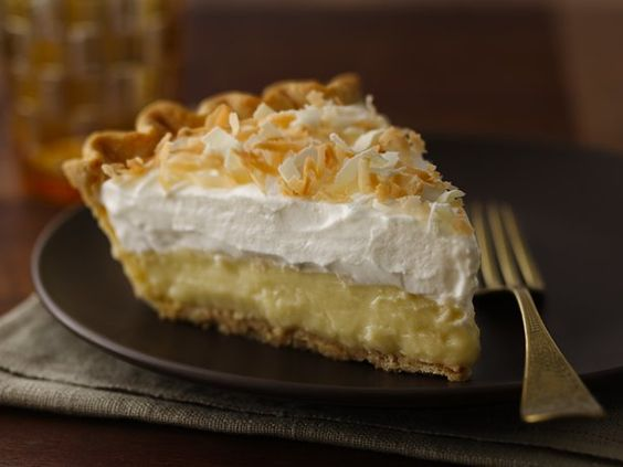 Triple-Threat Coconut Cream Pie. You'll gain weight just reading the recipe.