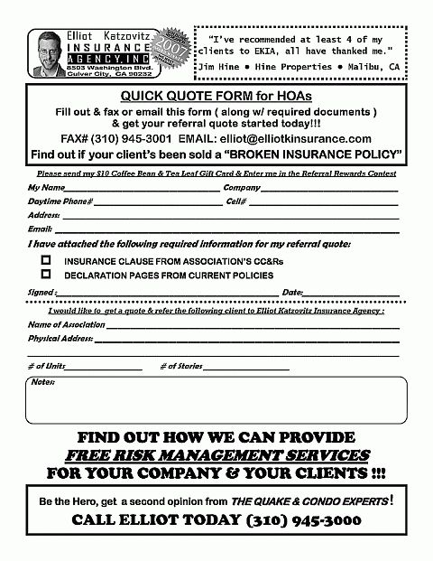 Hoa Insurance Quotes Wallpaper Pinterest Insurance Quotes   Free Quote Form  Template  Free Quote Form Template