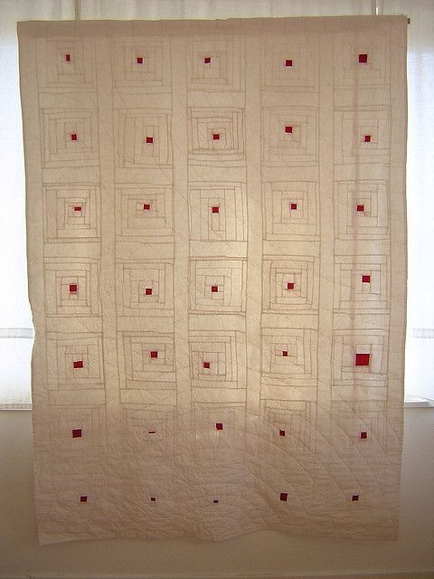 Quilts Imagine How Stunning This Log Cabin Style Would