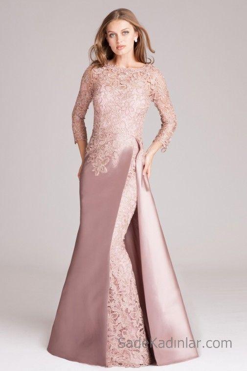 Pudra Rengi Elbise Kombinleri Elbise Kiyafet Nedimeler