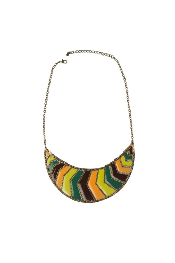 $22.90 Shoptiques — Multicolor Collar Necklace
