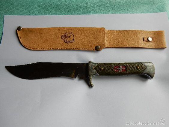 ANTIGUO CUCHILLO DE BOY SCOUT. AÑOS 60 (Militar - Armas Blancas Originales de…