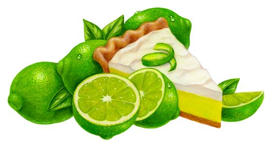 Image result for key lime pie clip art