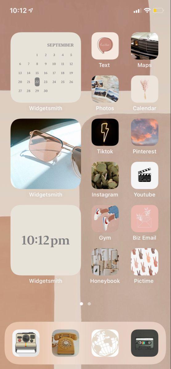 Ios 14 Home Screen Ideas Homescreen Iphone Homescreen Iphone Wallpaper App
