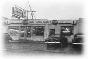 Mar's Supermarket on Old Eastern Avenue In Essex 1943