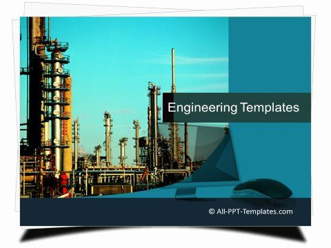 Engineering Power Point Template Templates Powerpoint Powerpoint Templates