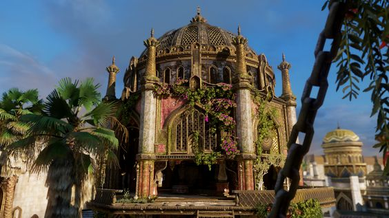Uncharted, Environment, Building