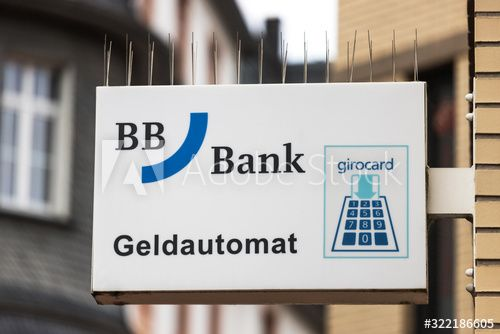 Giessen Hesse Germany 20 01 2020 Bb Bank Sign In Giessen Germany Affiliate Germany Giessen Hesse Bank In 2020 Giessen Illustration Design Stock Photos