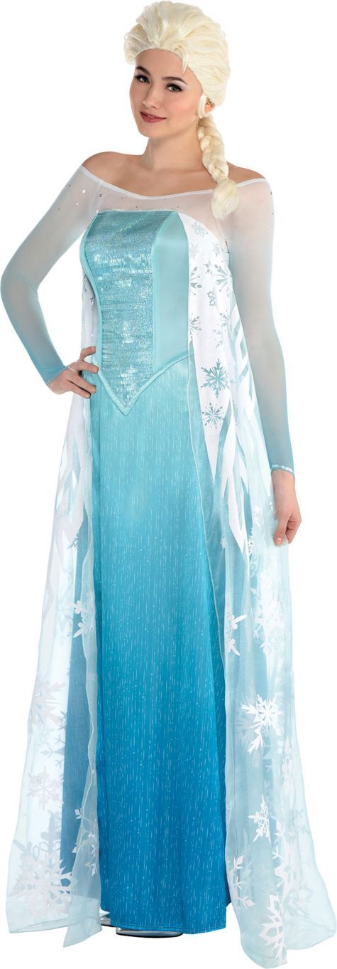 Adult Elsa Costume - Frozen - Party City | Is It Halloween Yet ...