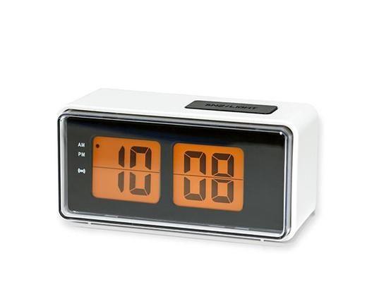 Digital Alarm Clock White With Images Alarm Clock Clock