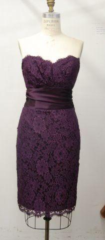 Purple + lace = perfect!