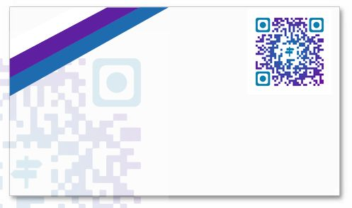 Generate a QR code on the basis of this template by clicking here http://net2tag.com/index.php?tpl=QR%23282&src=pinteresttag