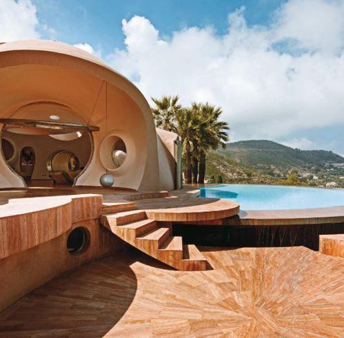 La piscine du Palais Bulles